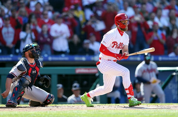 Bryce Harper Smokes First Home Run With Phillies Gets