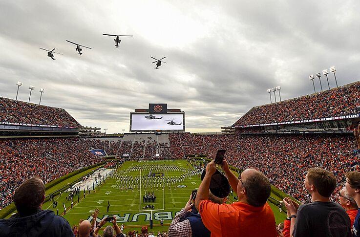 Jordan Hare Stadium Ranked 13th Best College Venue