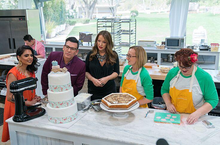 Wedding Cake Championship finale: Romantic Italian elegance