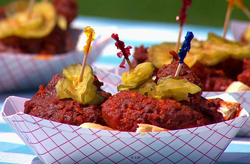 The Great Food Truck Race Recap Nashville Hot Chicken Its A Good Burn