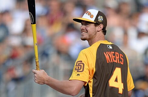 the latest 323ad d8f07 Padres Finding Identity in Wil Myers as Face of Franchise
