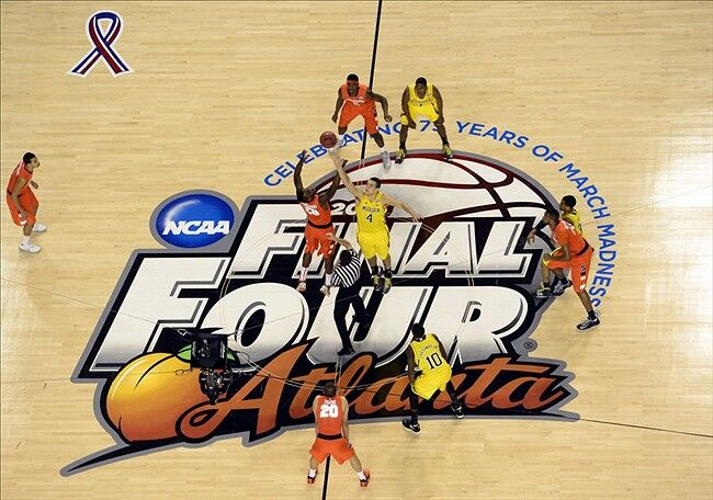 Michigan Wolverine Basketball Defeats Syracuse In Final Four Match Up