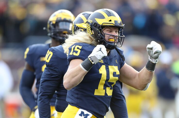 size 40 1e73f ae09f Michigan Football: Chase Winovich could end up starting for ...