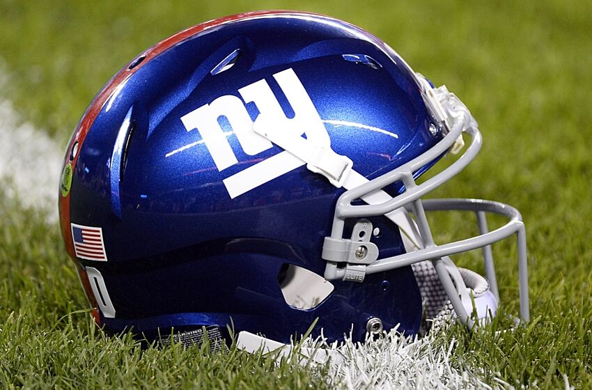 New York Giants  Graphic Designers Unveil New Helmet bd0aba549