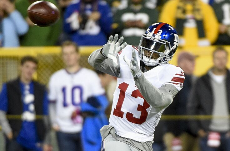 official photos e591c bc5bf The New York Giants Need More Odell Beckham Jr. In The Slot