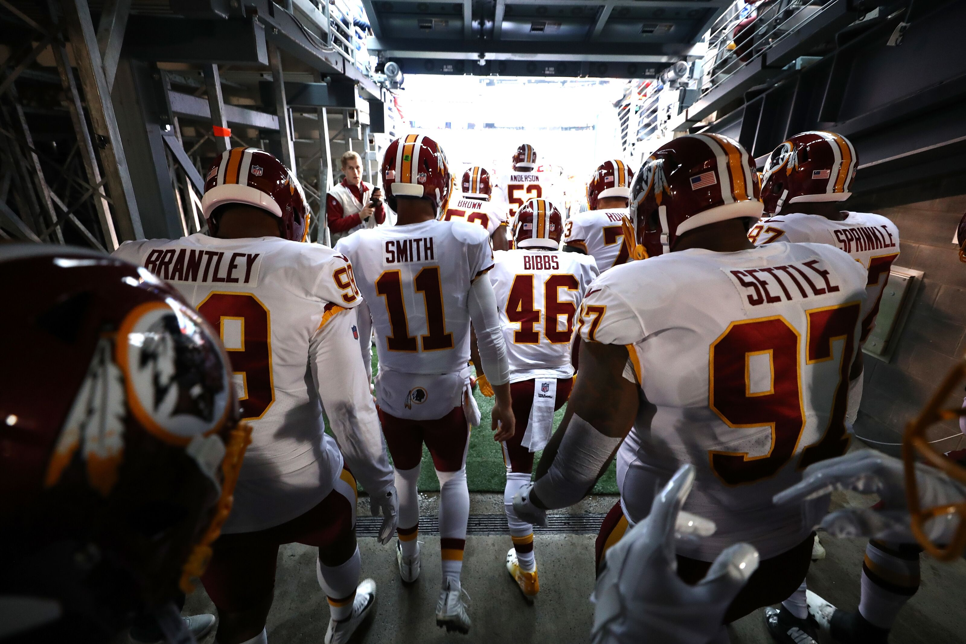 Washington Redskins replace New York Giants as Team Chaos