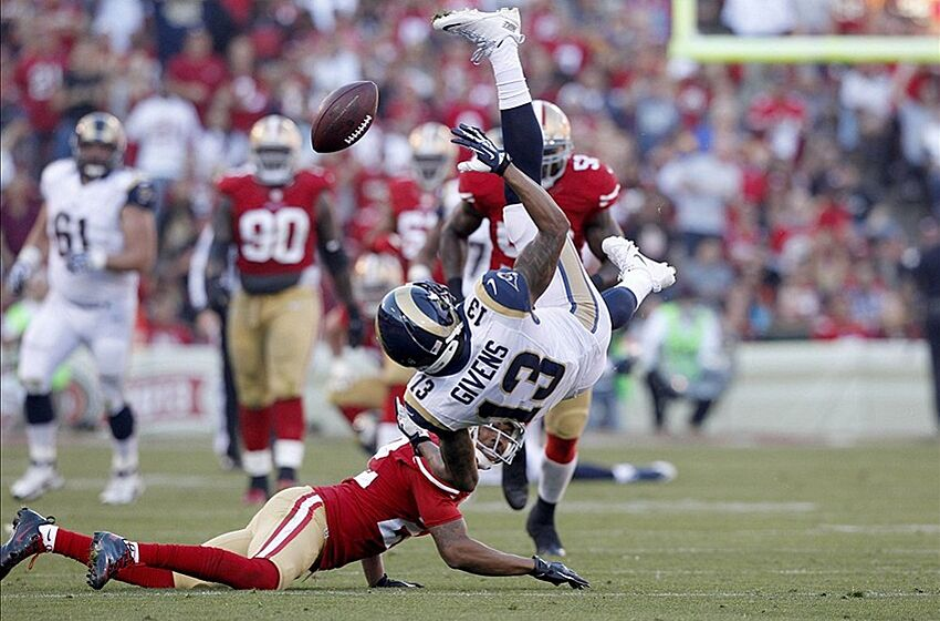 bb185bce9c1 San Francisco 49ers  49ers Win Physical Game vs. Rams