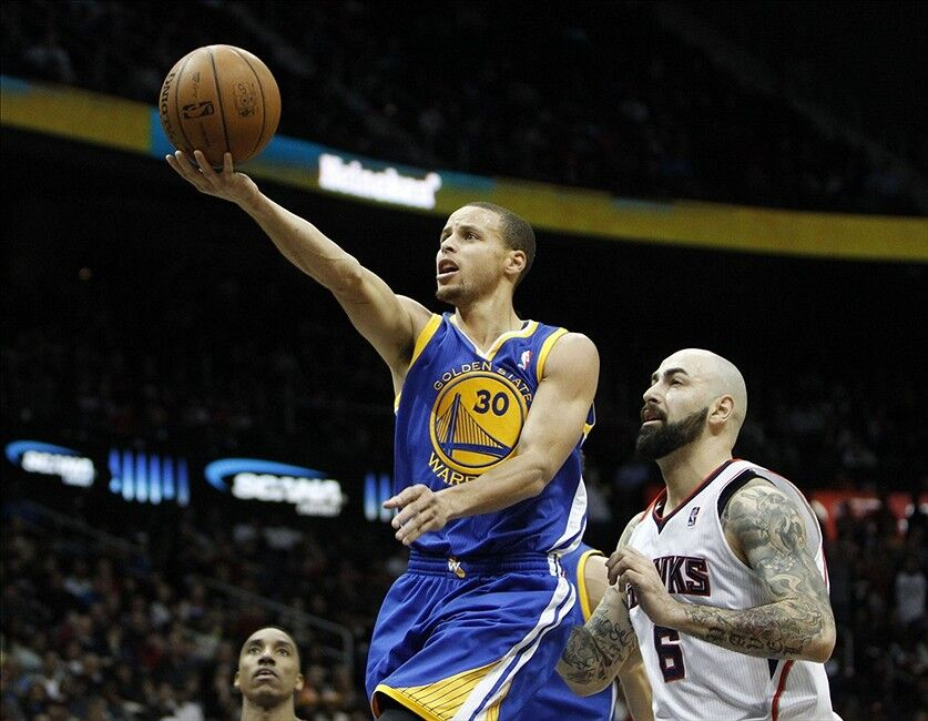 Golden State Warriors' Stephen Curry Now 2nd Among West ...