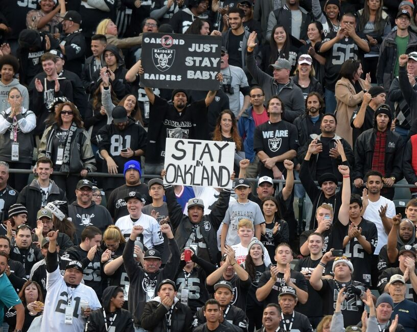 Oakland Coliseum Seating Chart Raiders