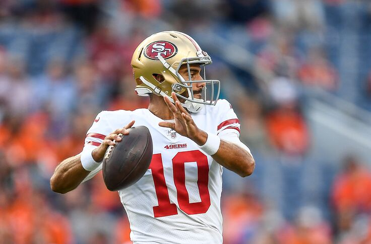 the latest 71861 a2193 San Francisco 49ers: Too early to be concerned about Jimmy ...