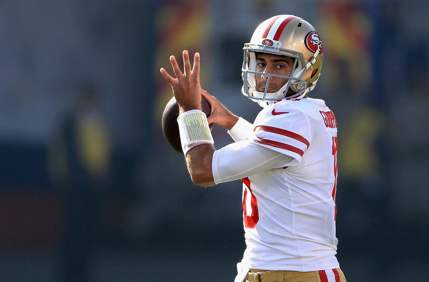 61b7d1a5951 San Francisco 49ers  Garoppolo overrated and the product of a system