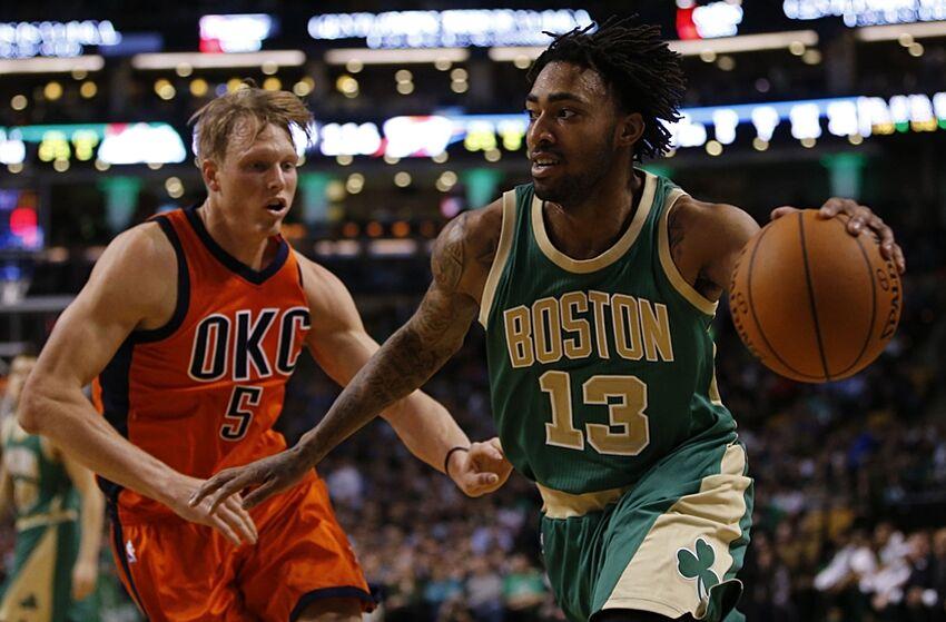 Mar 16 2016 Boston Ma Usa Celtics Guard James Young