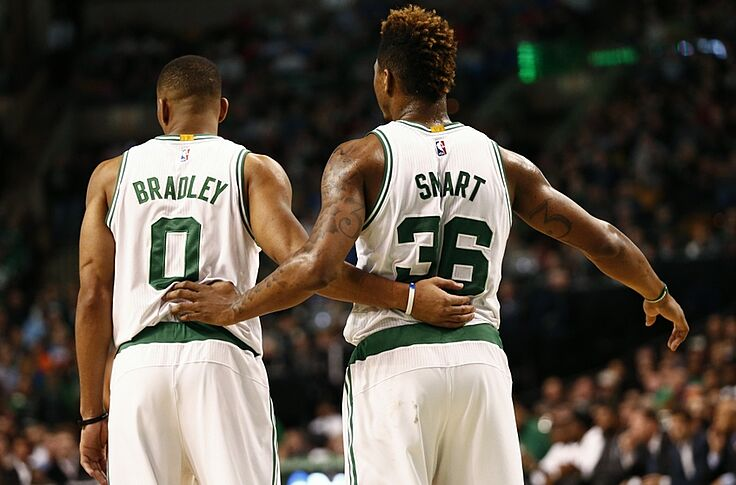 buy popular 0dd1f 8c525 Can Marcus Smart Follow in Avery Bradley's Footsteps?