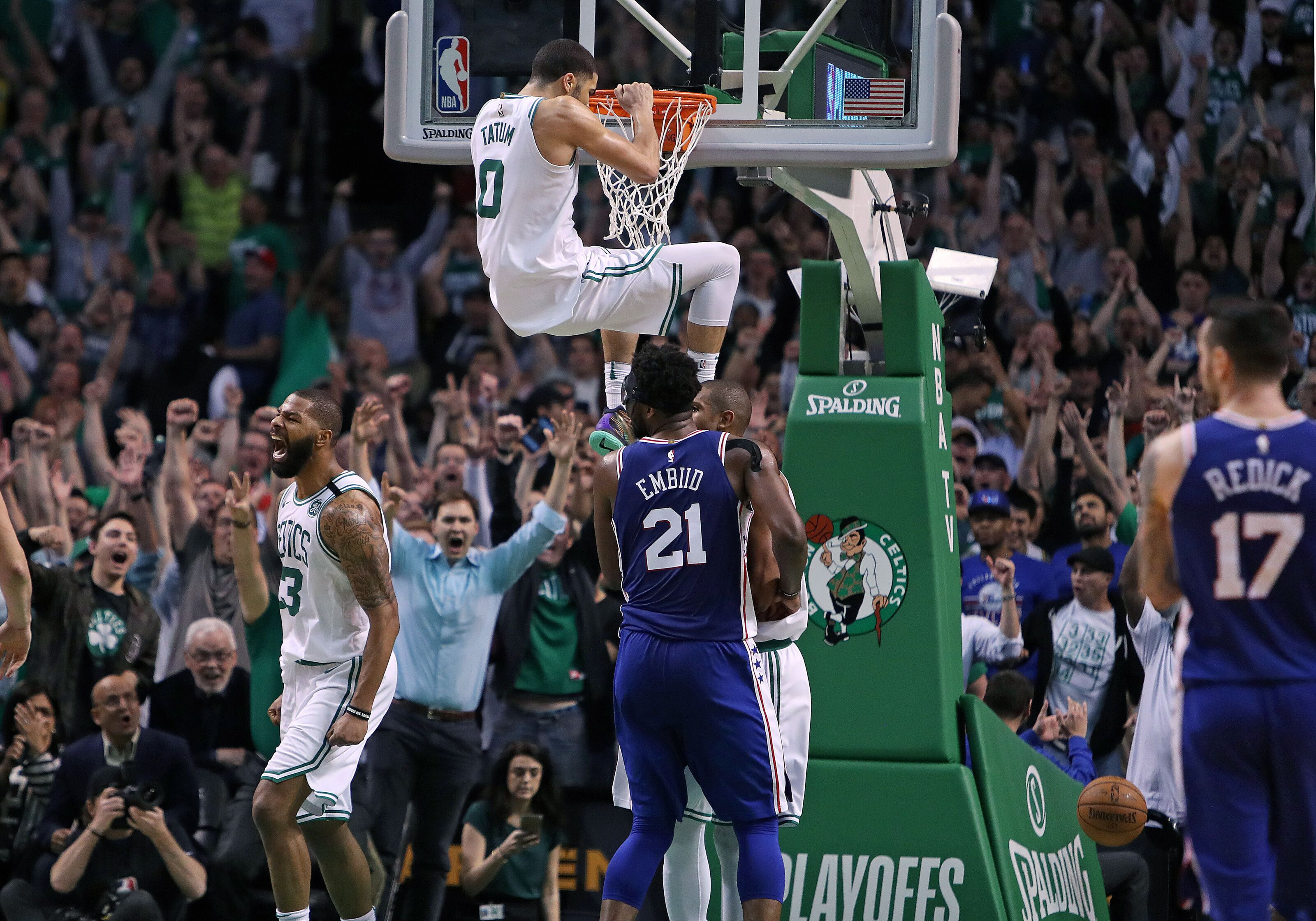 Celtics must use home court advantage to caintain Mcconnell