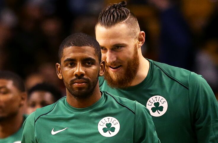 finest selection 11411 1a965 Boston Celtics: How Big Can Aron Baynes Be?