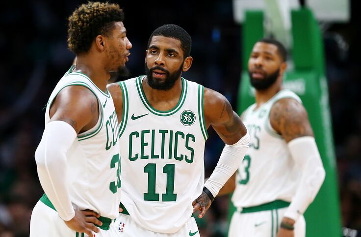 online retailer ec1a2 aa244 Kyrie Irving: Comments about calling LeBron could hurt team ...