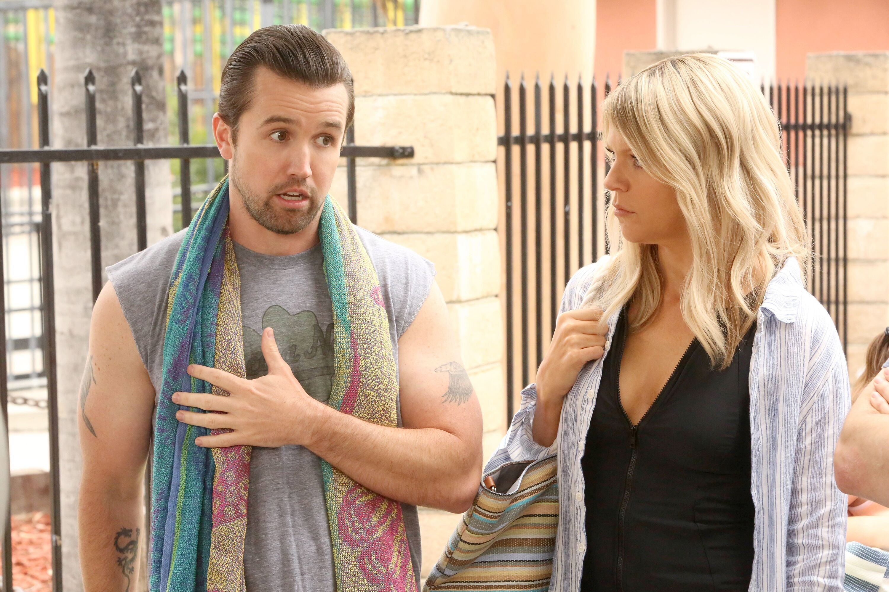It S Always Sunny In Philadelphia Recap The Gang Goes To A Waterpark