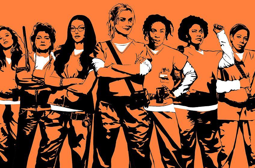 Orange is the New Black Season 5. Acquired via Netflix Media Center.