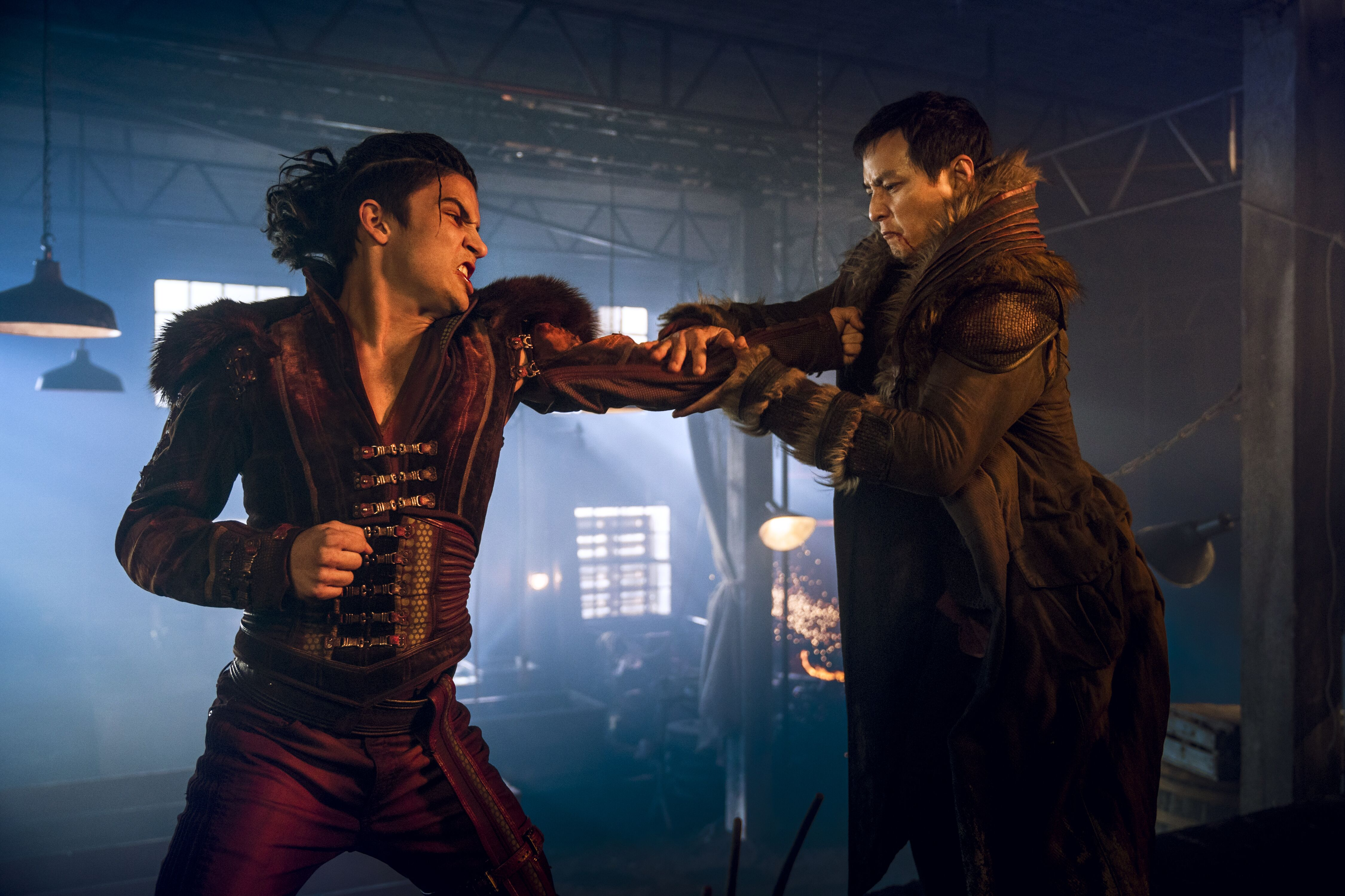 Image result for into the badlands leopard catches cloud