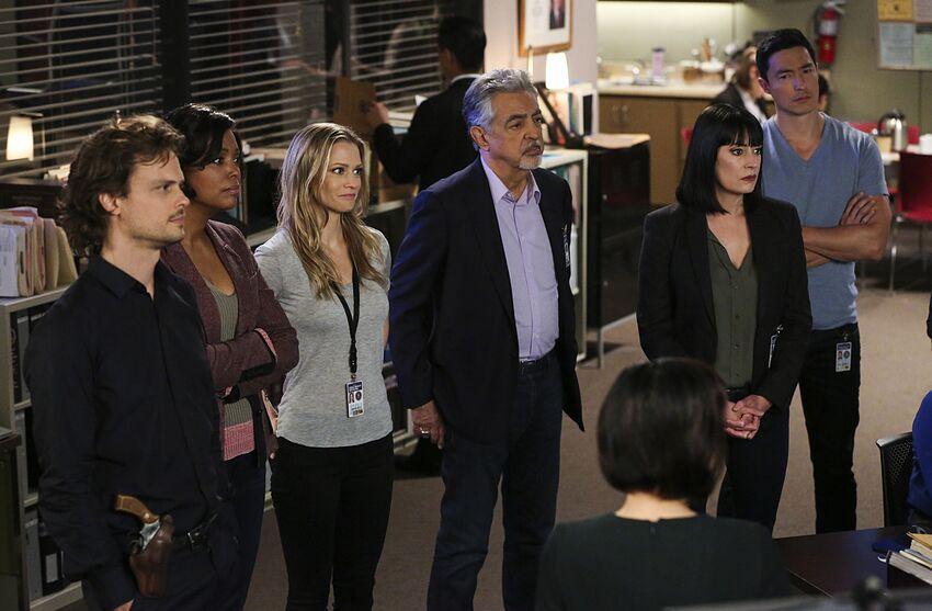 Photo credit: Criminal Minds/CBS by Michael Yarish; Acquired via CBS Press Express