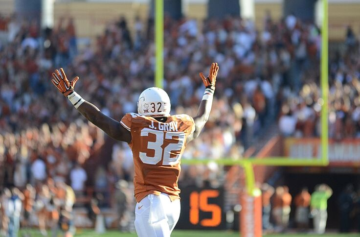 Texas longhorns football depth chart what jumps out at us