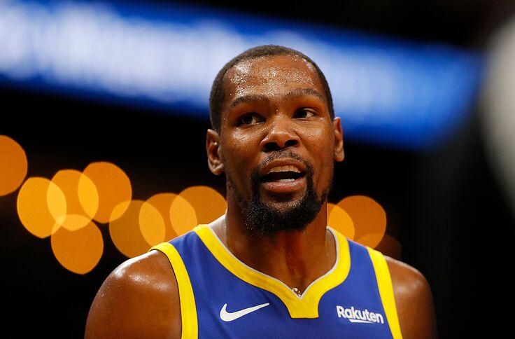 cebd55a0f Former Longhorn Kevin Durant battles LeBron James on NBA on ...