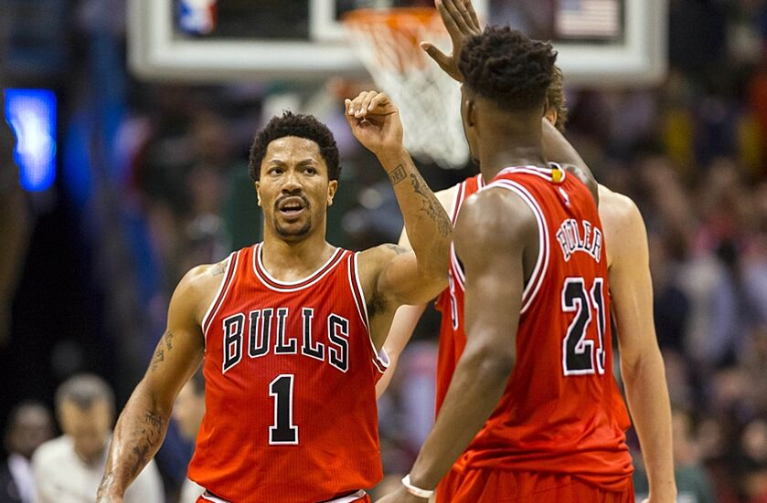 cd01a3afc5eb Chicago Bulls Rumors  Rift Between D. Rose And Jimmy Butler