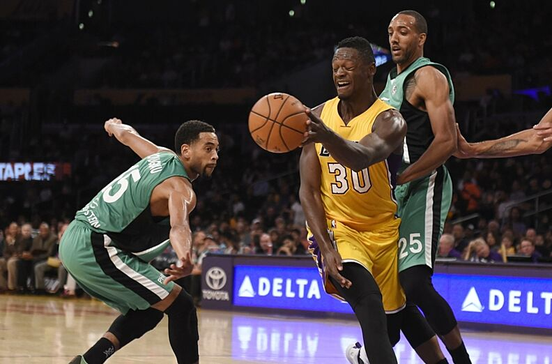 13820be3f Los Angeles Lakers  3 Things From Win Over Maccabi Haifa