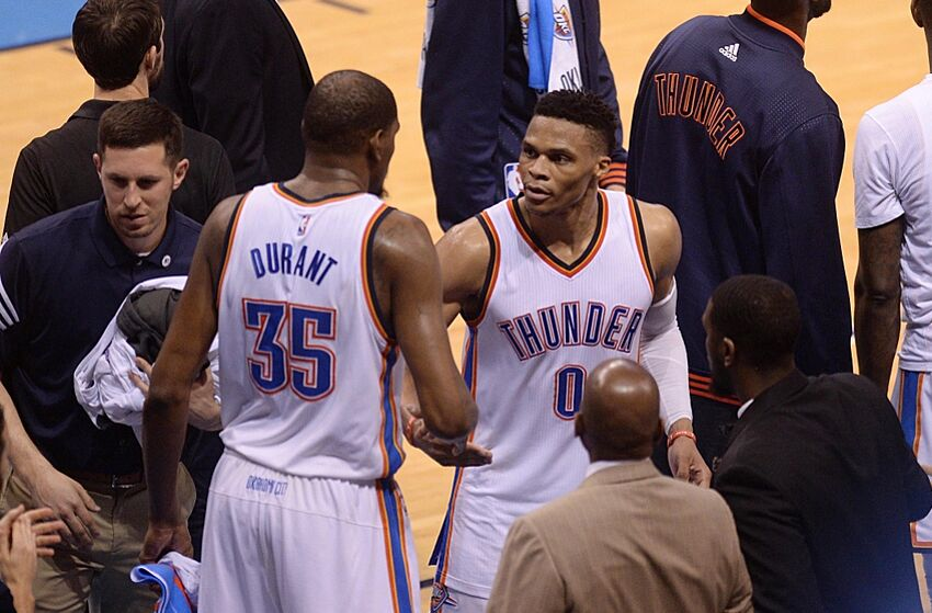 deac2b99718 Russell Westbrook  His Turn To Lead The Thunder
