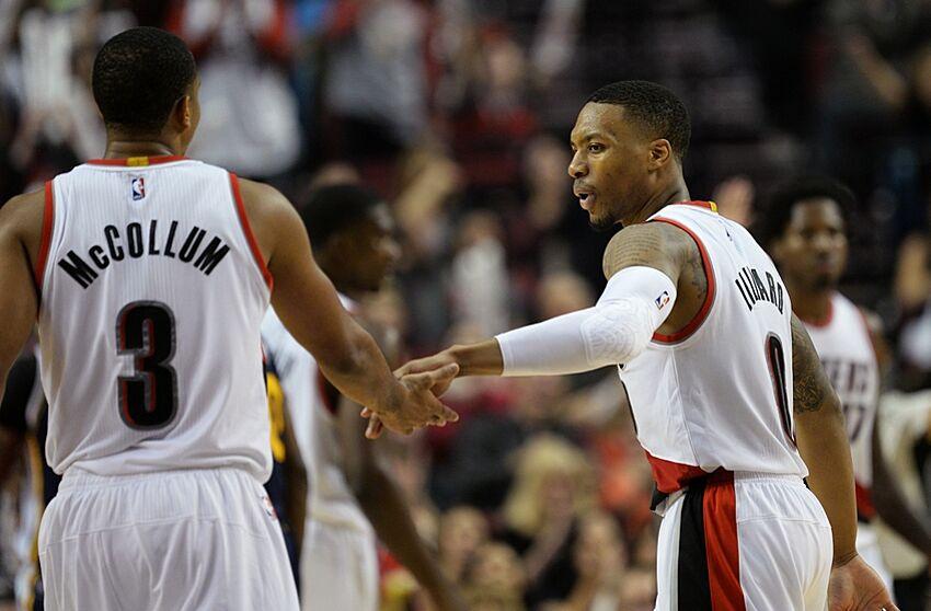 Portland Trail Blazers  Best Backcourt Duo In The NBA 8c1588c48f1