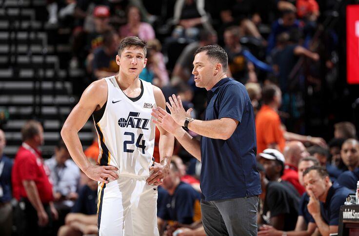 wholesale dealer 8b0a4 54003 Utah Jazz: Best and worst-case scenarios for rookie Grayson ...
