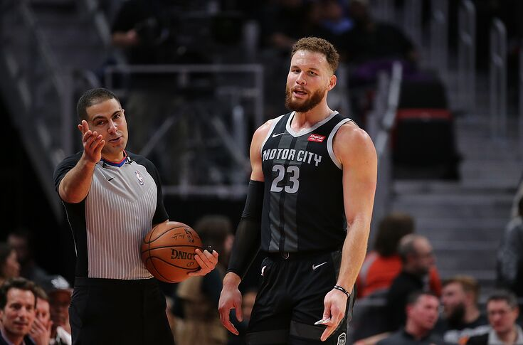 competitive price 04d10 1d23f Detroit Pistons: Blake Griffin keeping team afloat in 2018-19