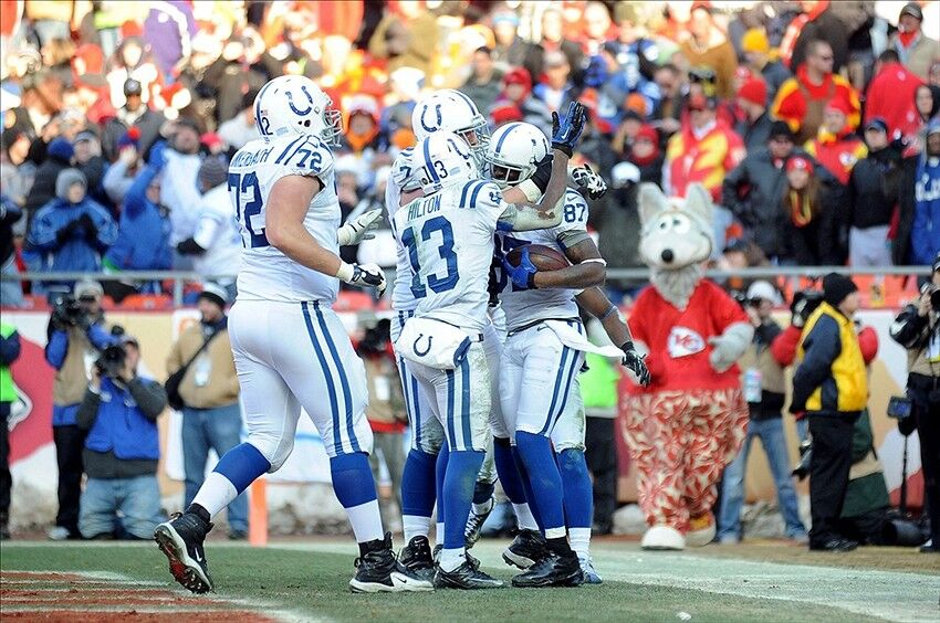 Nfl Playoffs Indianapolis Colts Prepare For Kansas City