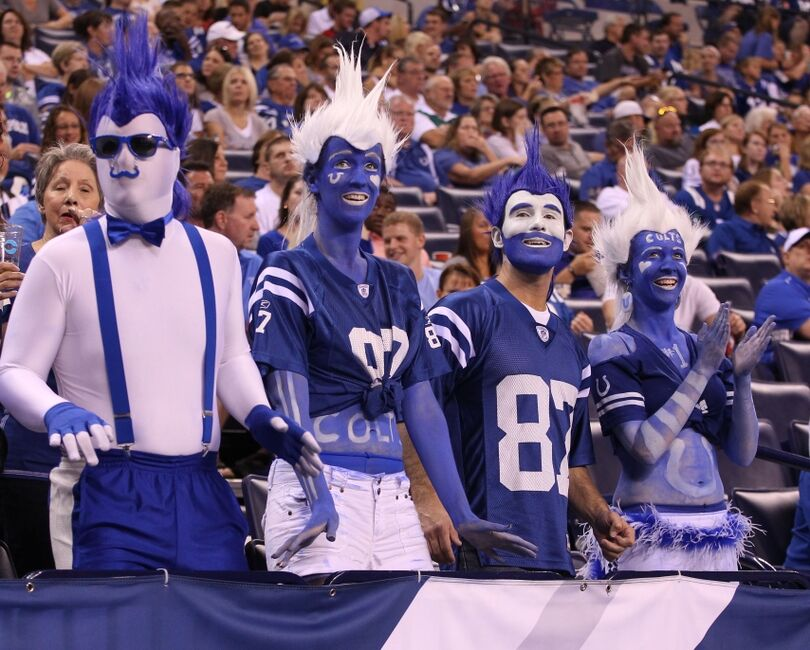Image result for colts fans