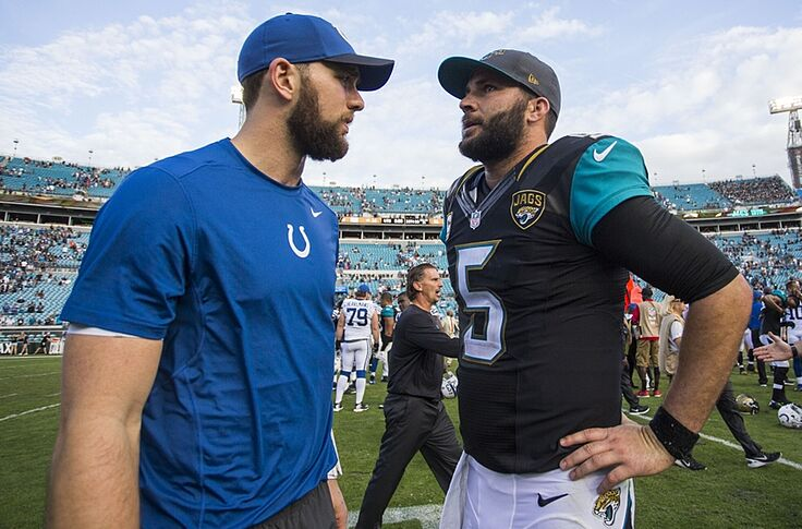 Indianapolis Colts At Jacksonville Jaguars Behind Enemy Lines
