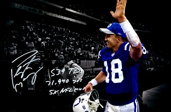 2a4daa209 Indianapolis Colts Gift Guide: 10 must-have Peyton Manning items