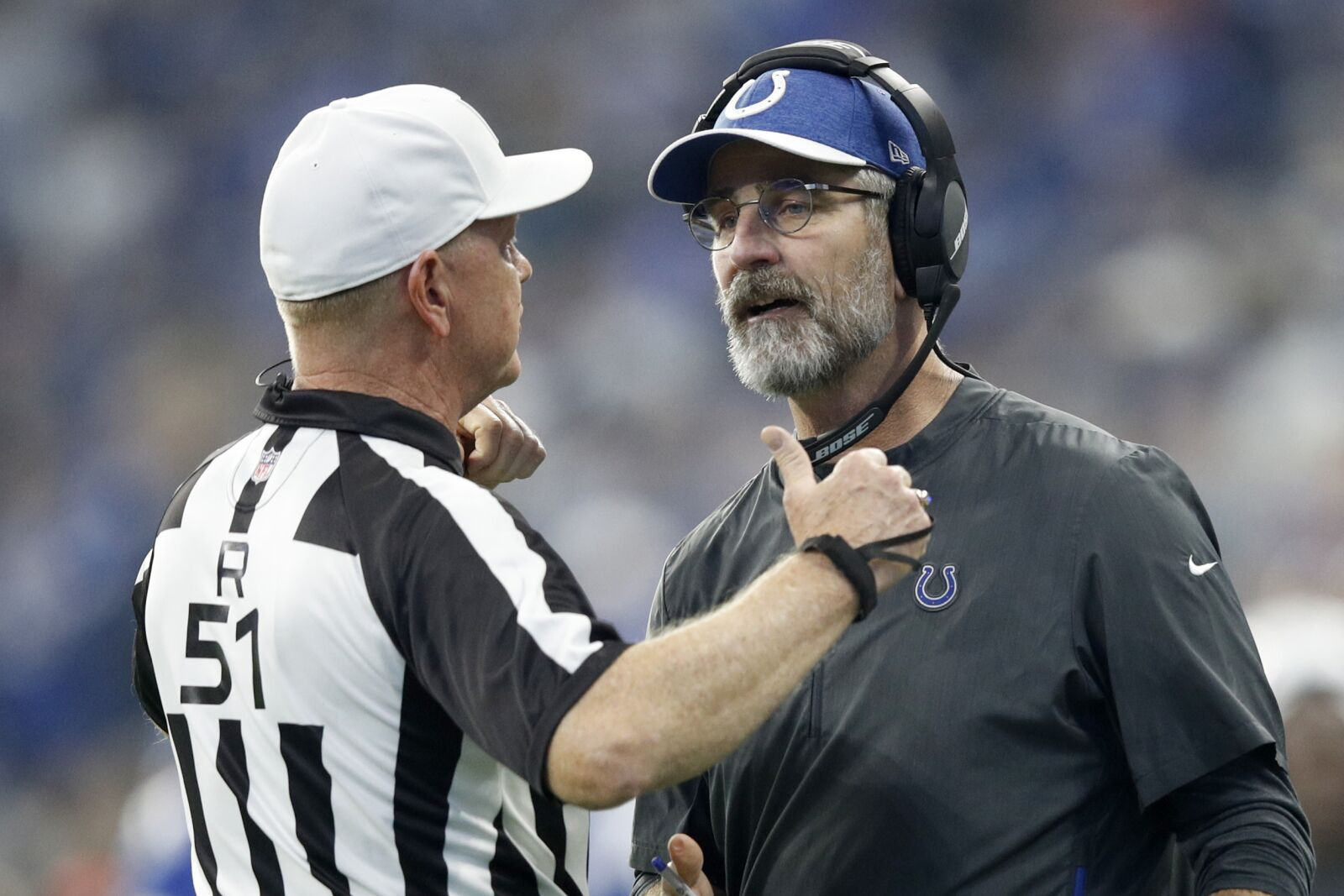 Colts' coaches need offseason work too