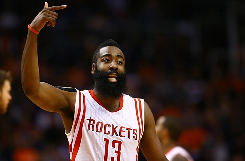 4ec08b510 James Harden - Western Conference Player Of The Month