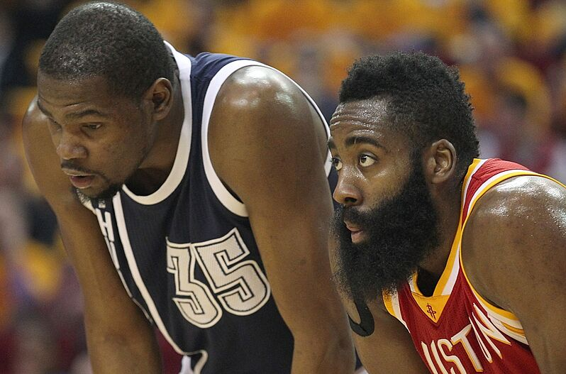 13da94451ae Rockets  Can James Harden Effectively Recruit Kevin Durant
