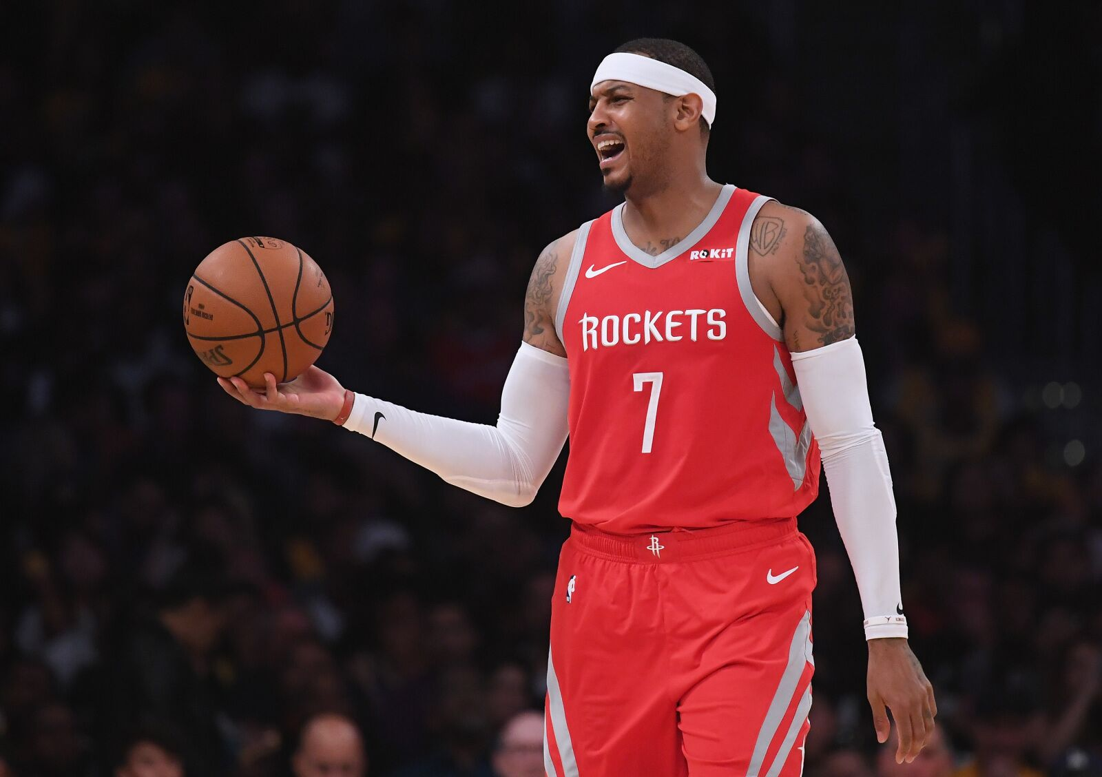 Image result for carmelo anthony rockets