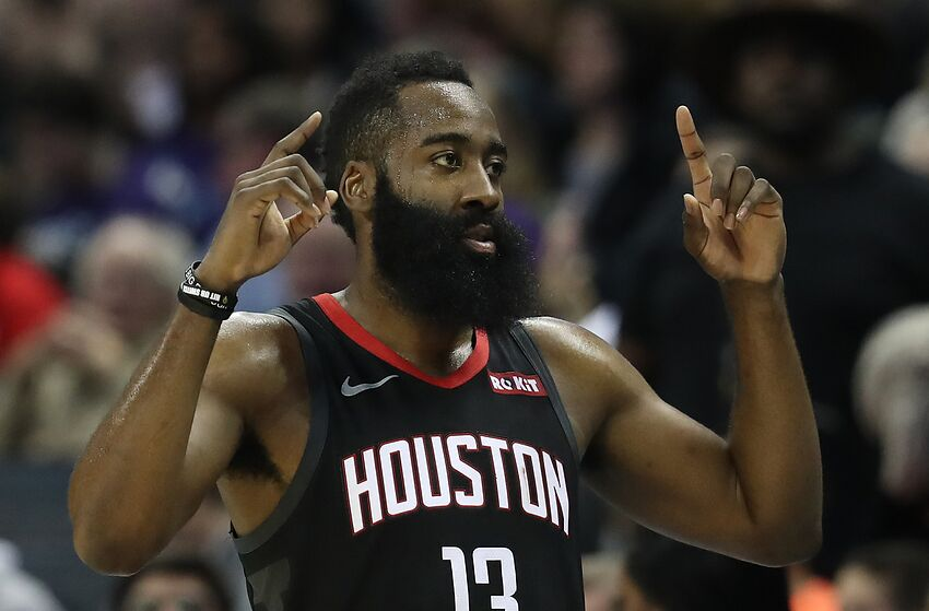 d8b7343137b Houston Rockets guard James Harden (Photo by Streeter Lecka Getty Images)