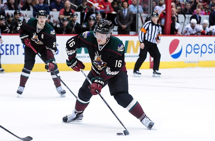 new arrival a8a03 a49cd Arizona Coyotes Break Out Kachina Jerseys For Throwback Night