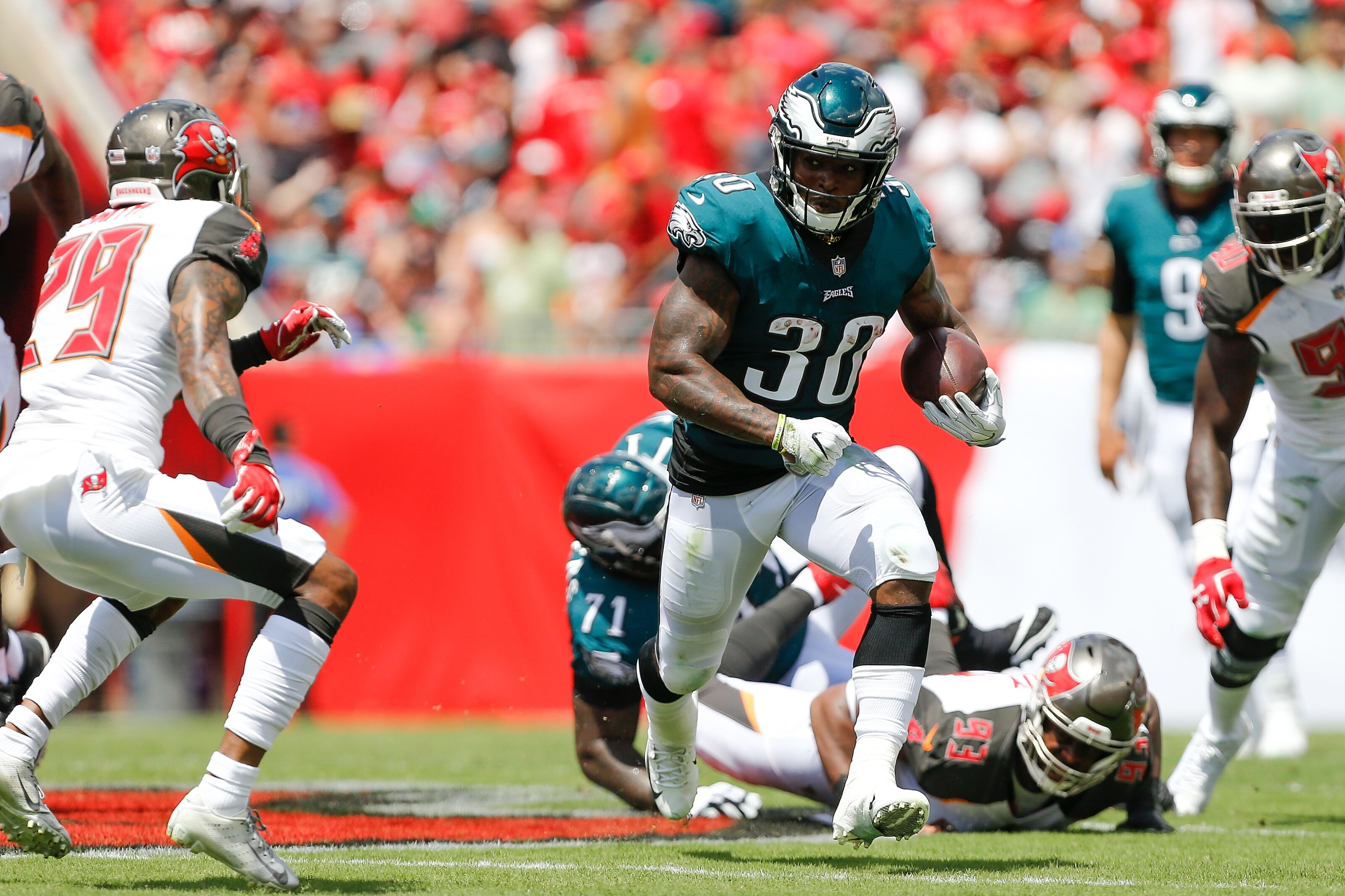 Corey Clement Fantasy: With Ajayi out, is he the move?