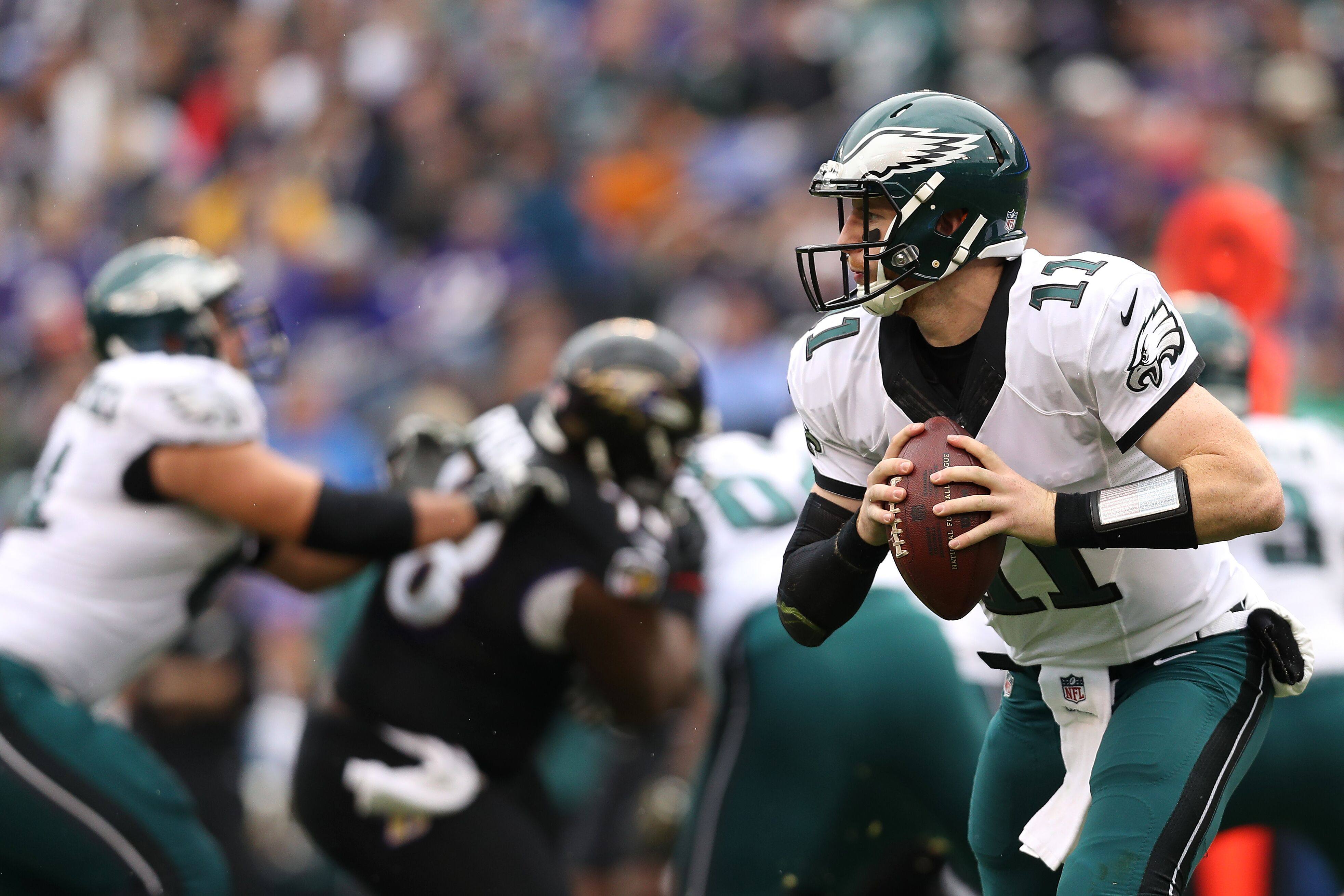 Philadelphia Eagles Carson Wentz Labeled As A Potential Fantasy Bust