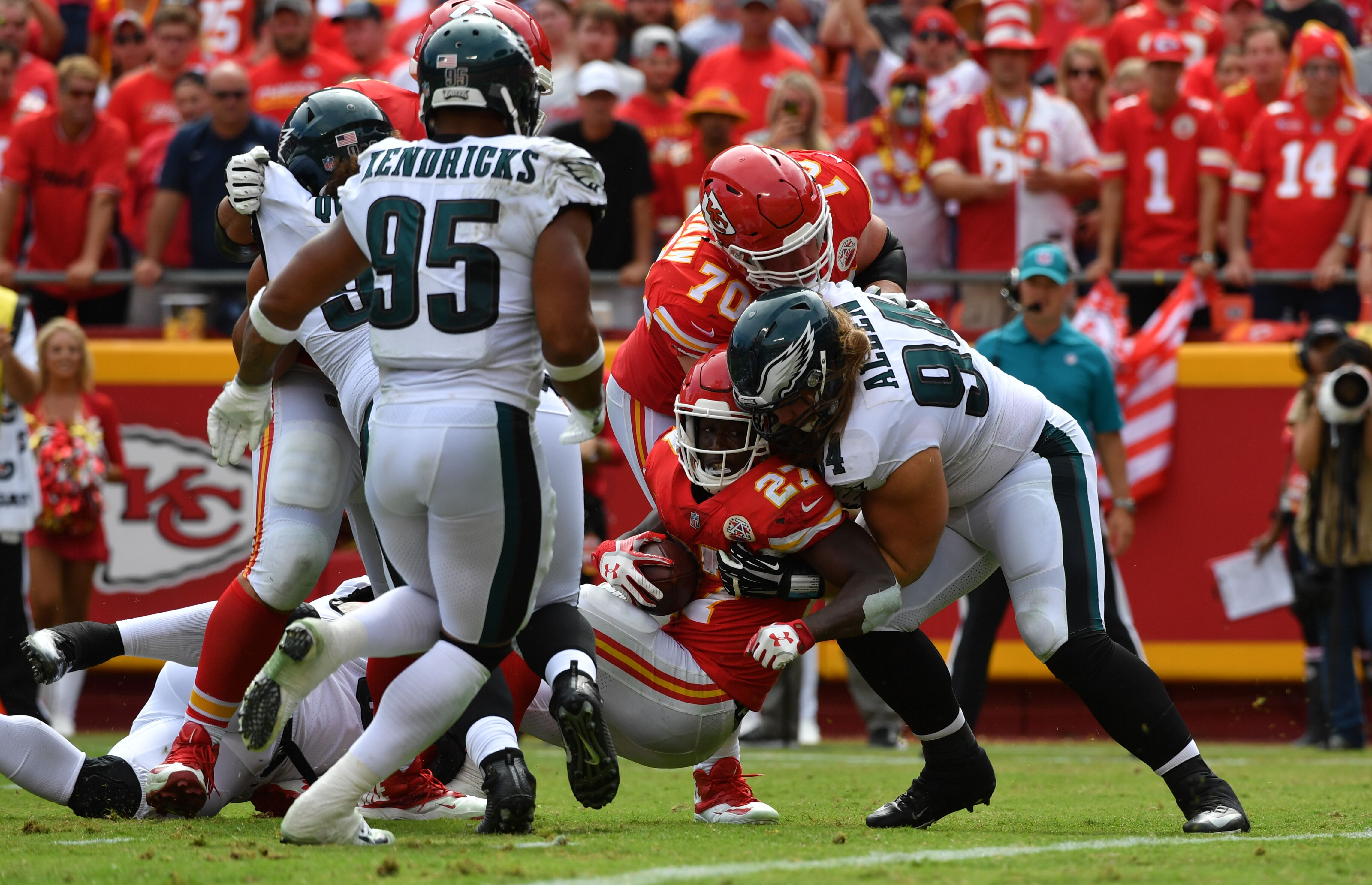 Philadelphia Eagles roundup: Defensive tackle, Corey Graham