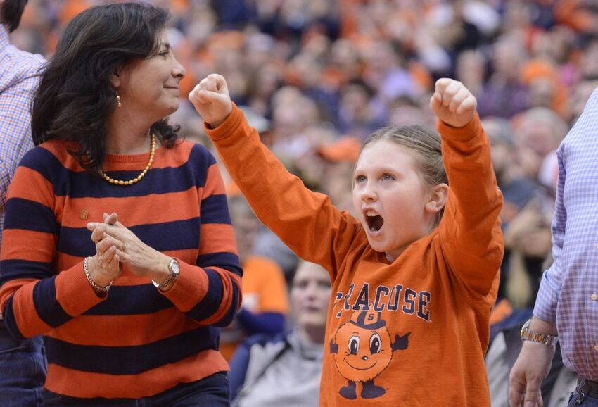 Syracuse Basketball Fans Say Some Goofy Things
