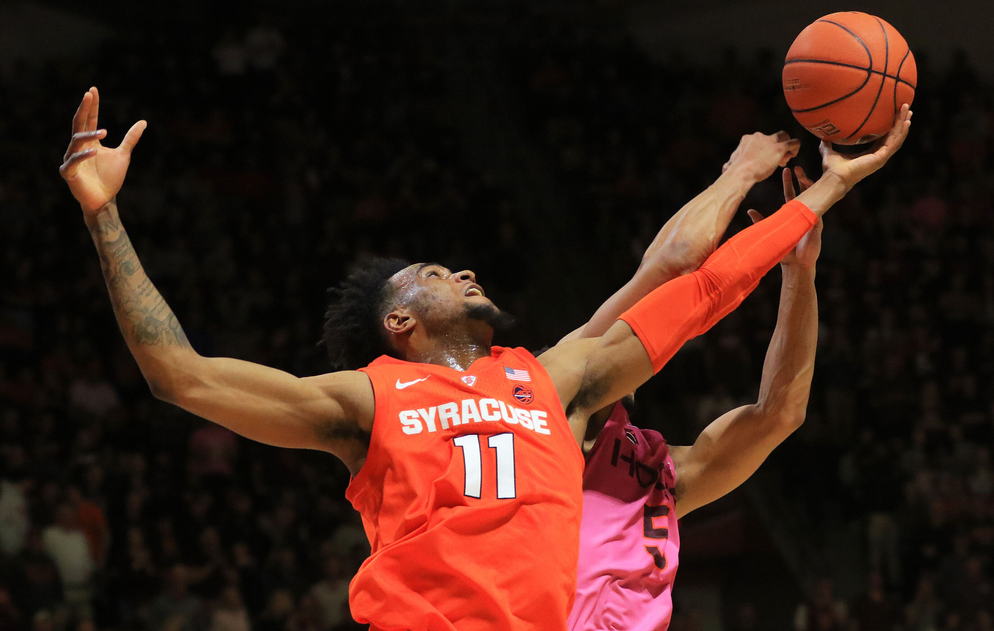 Syracuse Basketball Sloppy Orange Effort Not Enough Vs Va Tech Hokies