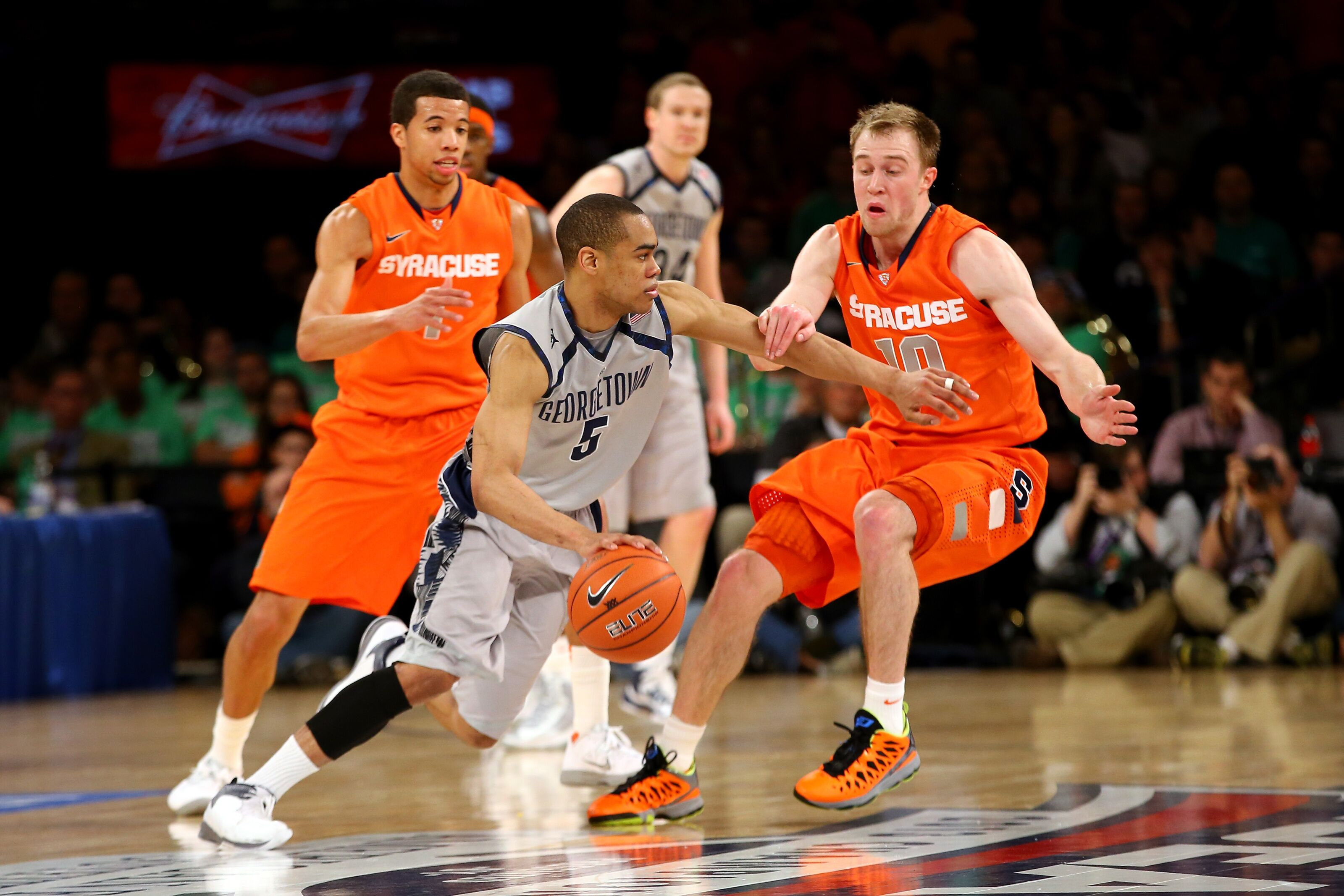 Syracuse Basketball Orange To Battle Georgetown This December