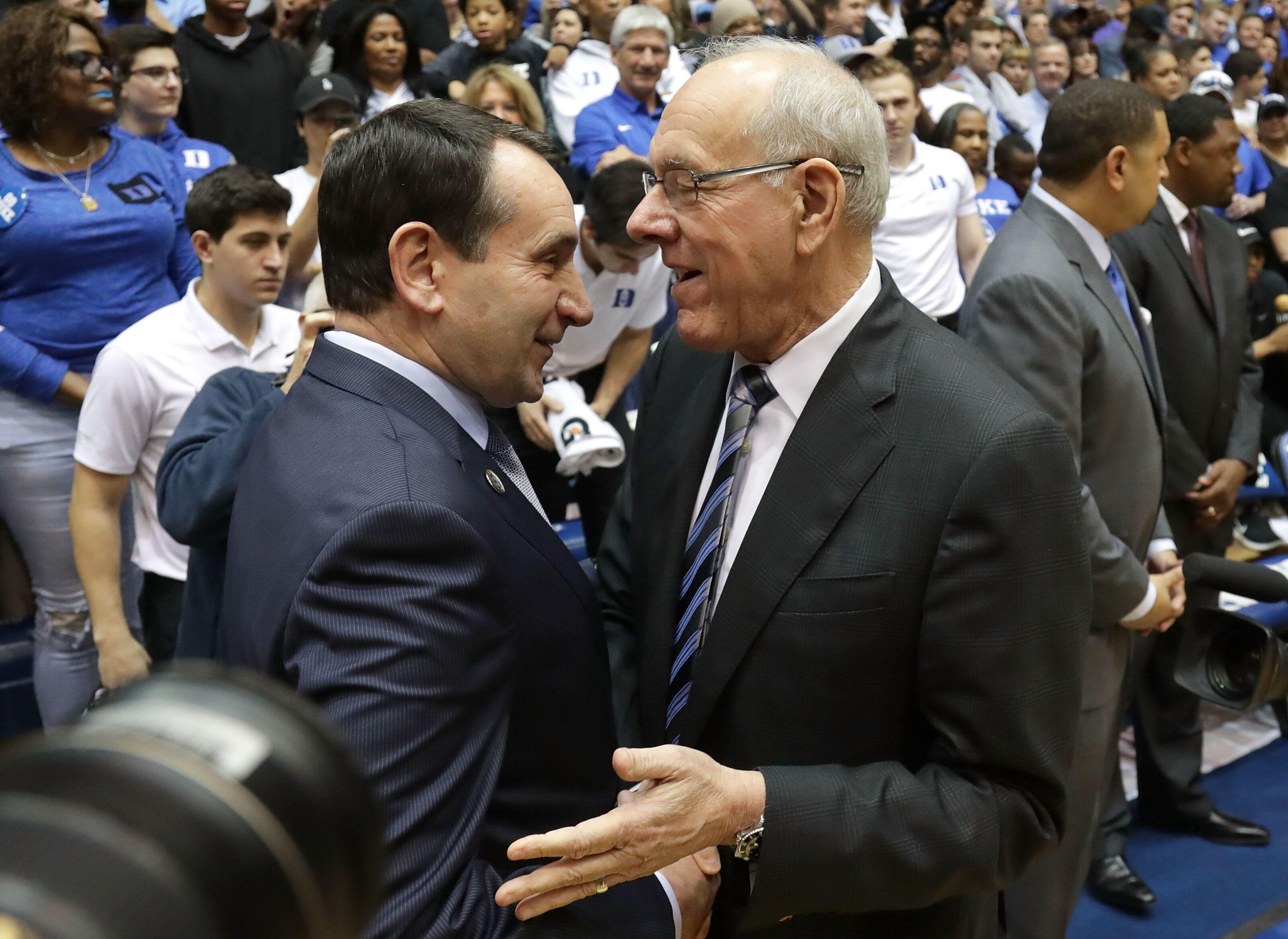Syracuse Basketball Jim Boeheim To Resume Coaching Duties Vs Duke