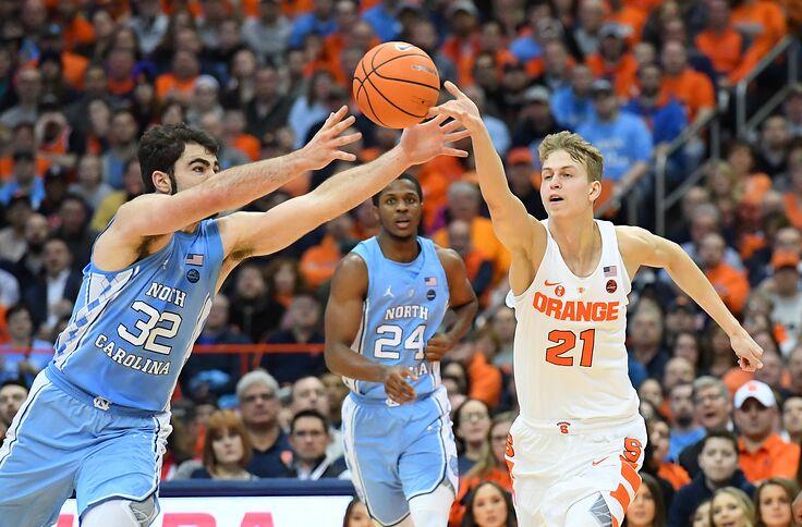 Syracuse Basketball Vs North Carolina Unc How To Watch